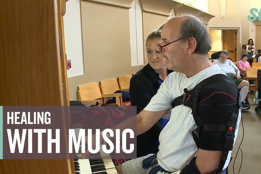 After surviving stroke, man uses healing powers of music to recover